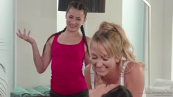AllGirlMassage - brett rossi jasmine jae and georgia jones bring your daughter to work day