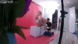 Spyfam  Kenna James Stepbro Shoots Stepsis Nudie Pics