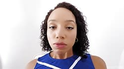Modeltime Alexis Tae Cheerleaders After Game Anal